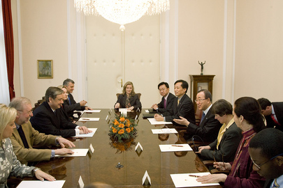 Secretary-General Meets President of Slovenia