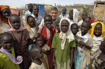 UN Messenger of Peace Visits South Darfur IDP Camp