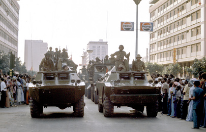 The End of Portuguese Rule in Angola