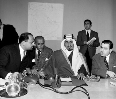 Prince Faisal of Saudi Arabia Charges U.K. with 