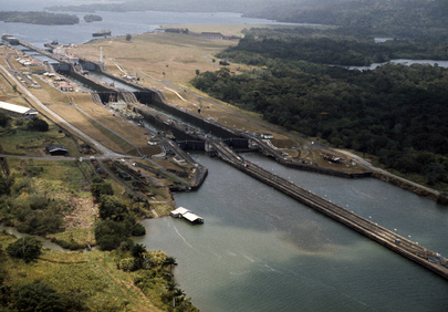 Panama Canal (Background Photograph)