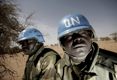 UNAMID Peacekeepers on Patrol