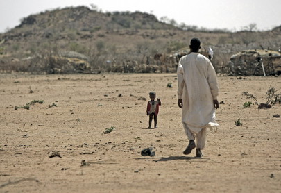 Nomad and His Son in Darfur