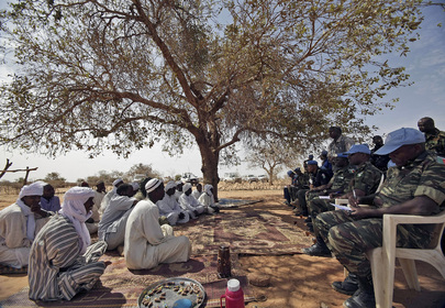 UNAMID Officials Meet Arab Nomads