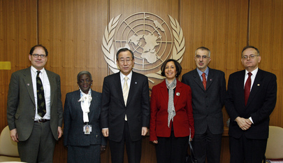Secretary-General Meets Staff Council Security Committee Members