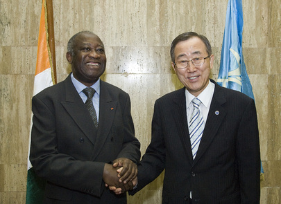 Secretary-General Meets President of Côte d'Ivoire