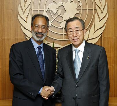 Secretary-General Meets UN Ombudsman