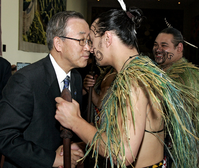 Secretary General Greeting Maori