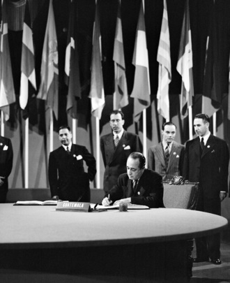 The San Francisco Conference: Guatemala Signs the United Nations Charter