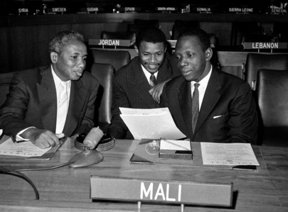 African Delegates in Sixth Committee Room