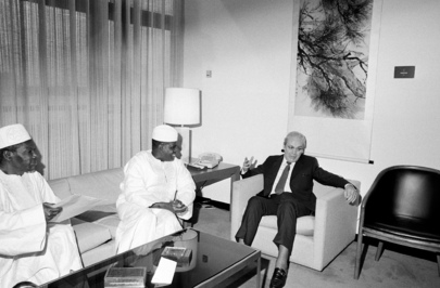 Foreign Minister of Mali Meets with UN Secretary-General