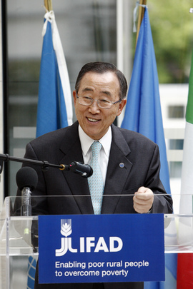 Secretary-General Addresses IFAD Building Inauguration Ceremony