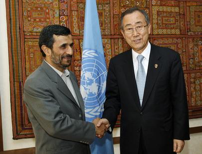 Secretary-General Meets President of Iran