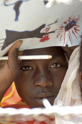 Young Displaced Person in Darfur, Sudan