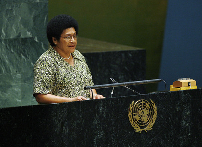 Health Minister of Fiji Addresses High-Level Meeting on HIV/AIDS