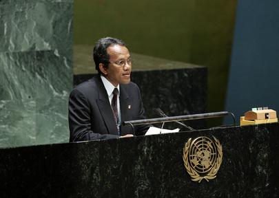 Health Secretary-General of Madagascar Addresses High-Level Meeting on HIV/AIDS