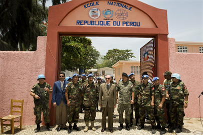 MINUSTAH Head Attends School Inauguration