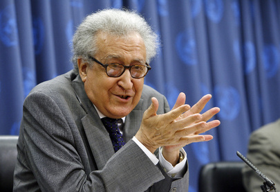 Lakhdar Brahimi. UN Photo/Mark Garten