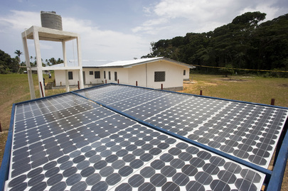 UNDP-Built Solar Panels Aid Liberian Communities