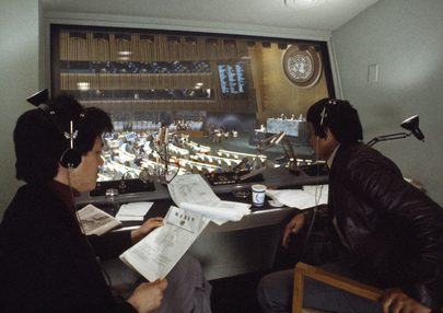 Chinese Interpreters at Headquarters