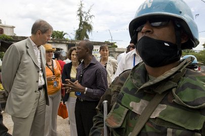 USG for Peacekeeping Visits MINUSTAH
