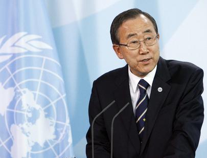 Mensagem do Secretário-Geral da ONU, Ban Ki-moon, para o Dia dos Direitos Humanos – 10 de dezembro de 2012. (ONU//Mark Garten)