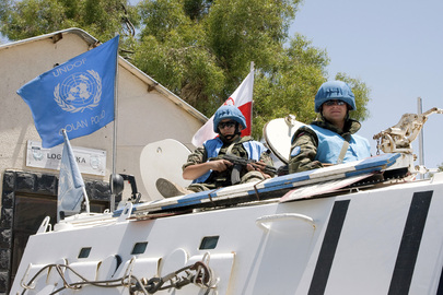 UNDOF Peacekeepers on Patrol