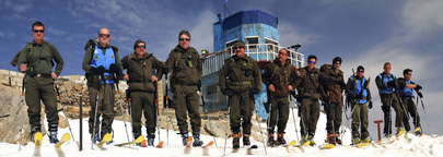 UNDOF Military Personnel on Patrol