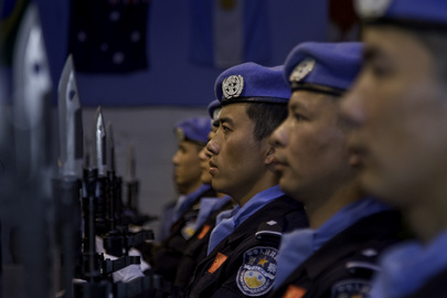 MINUSTAH Honours Chinese Battalion Members