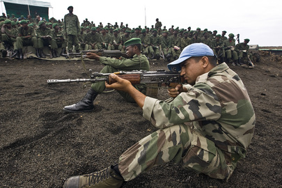 MONUC Military Personnel Train FARDC Members