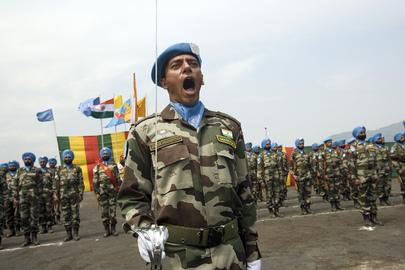 MONUC Honours Indian Peacekeepers