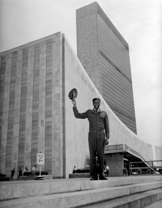 Ethiopian Soldier Amputee Visits United Nations