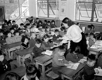Korea's Drive against Illiteracy