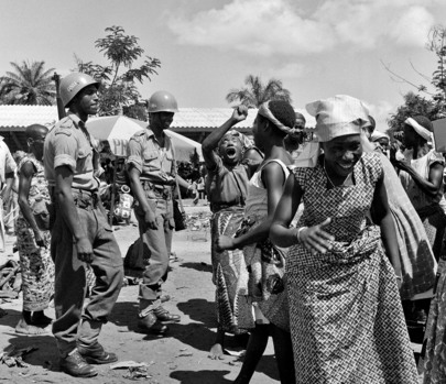 Ethiopian Troops in the Republic of the Congo (Leopoldville)