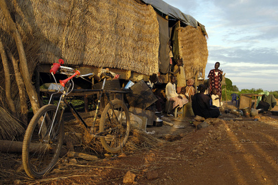 Sudanese Displaced by Floodwaters