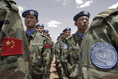 UNAMID Chinese Engineers Arrive in Nyala