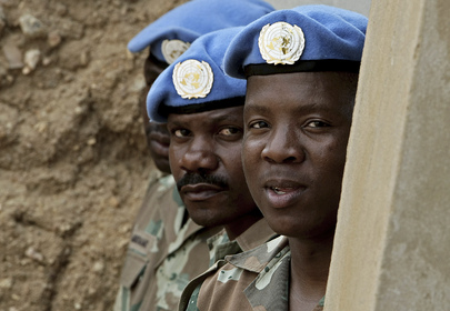 South African Battalion UNAMID Members