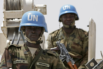 Nigerian Battalion UNAMID Members