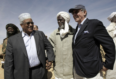 Local Leader Speaks with AU and UN Darfur Special Envoys