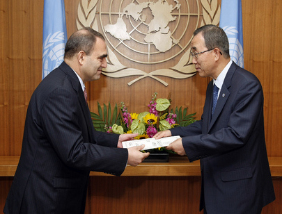 New Permanent Representative of Algeria Presents Credentials