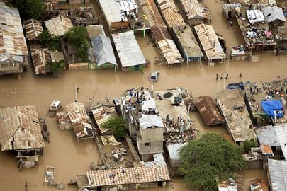 Tropical Storm Devastated Communities in Haiti
