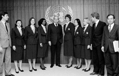 New Uniforms for the United Nations Guides