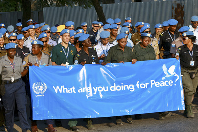 UNMIT Peacekeepers Celebrate UN International Day of Peace