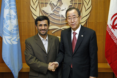 Secretary-General Meets President of Iran
