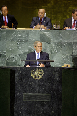 US President Addresses General Assembly General Debate 