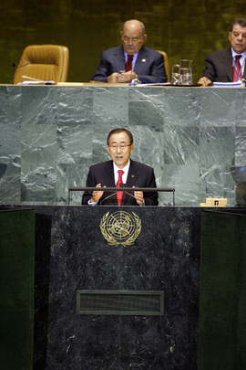 Secretary-General Addresses General Debate