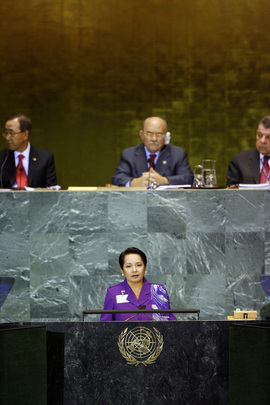 Philippines President Addresses General Assembly