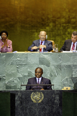 Vice-President of Gabon Addresses General Assembly