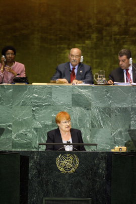 President of Finland Addresses General Assembly