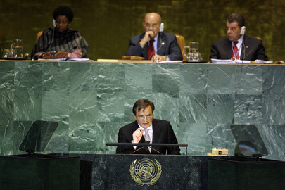 Presidency Chairman of Bosnia and Herzegovina Addresses General Assembly